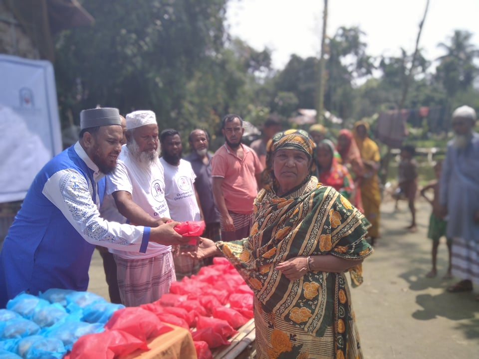 Sadaqah Foundation USA conducted Qurbani in different 17 places of Bangladesh