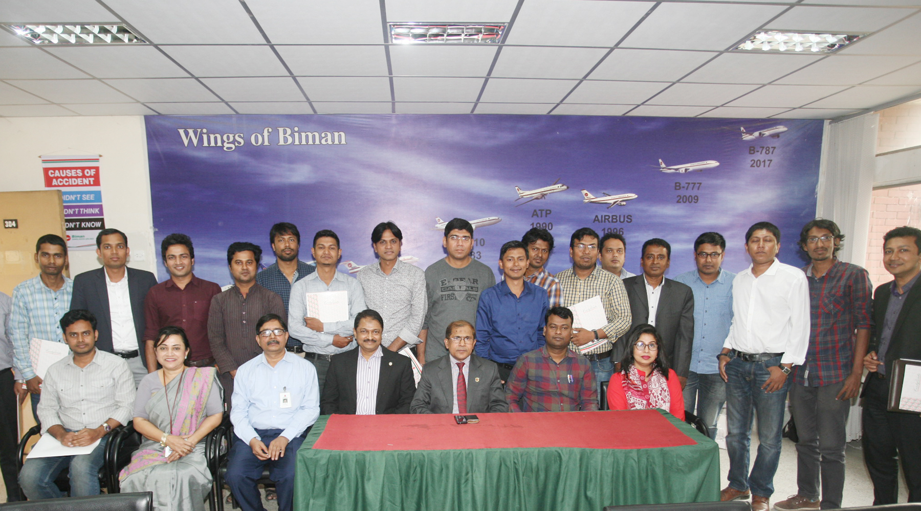 """A day long workshop on """" Aviation reporting with emphasis on Biman operations"""" held today."""